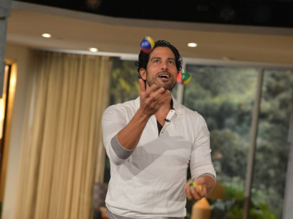 7. Adam Rodriguez - Juggling - Reckless