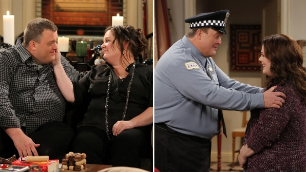 It's been a long and loving road for Mike and Molly.