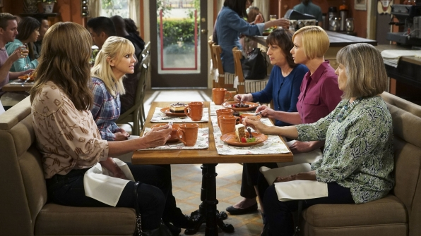Christy confides in Bonnie, Wendy, Jill, and Marjorie.