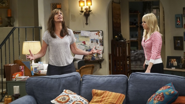 Bonnie can't control herself while Christy remains calm.