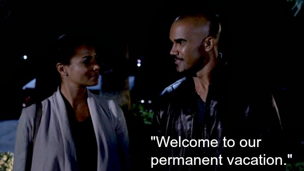SSA Derek Morgan bought a new house for him and Savannah.