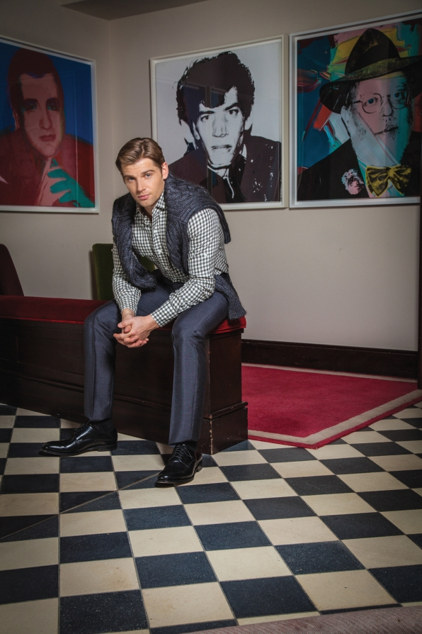 Mike Vogel Gets Serious - Watch! Magazine August 2014