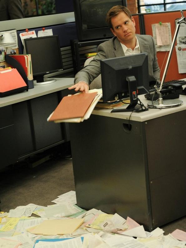 9. His office antics
