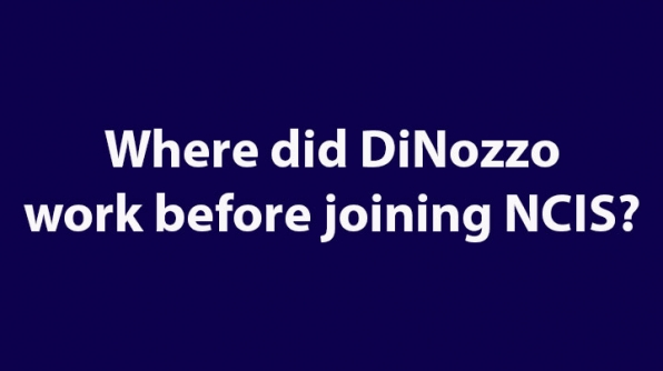 1. Where did DiNozzo work before joining NCIS?