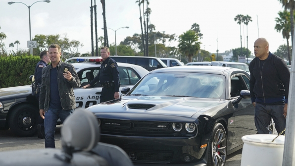 Callen and Sam arrive on the scene.