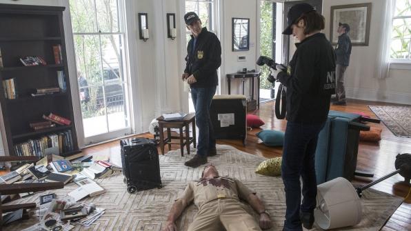 Scott Bakula as Dwayne Pride and Zoe McLellan as Meredith Brody