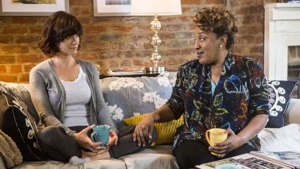 Zoe McLellan as Meredith Brody and CCH Pounder as Dr. Loretta Wade