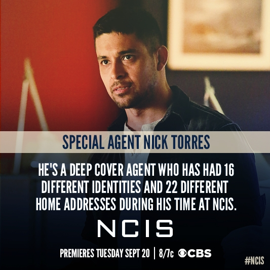 Agent Torres is a man of many places.