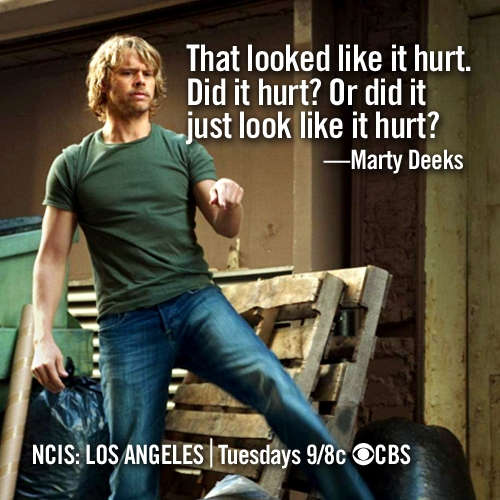 NCIS: Los Angeles Winner!