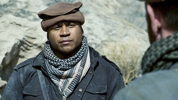 Sam Hanna knows when a hat is needed.