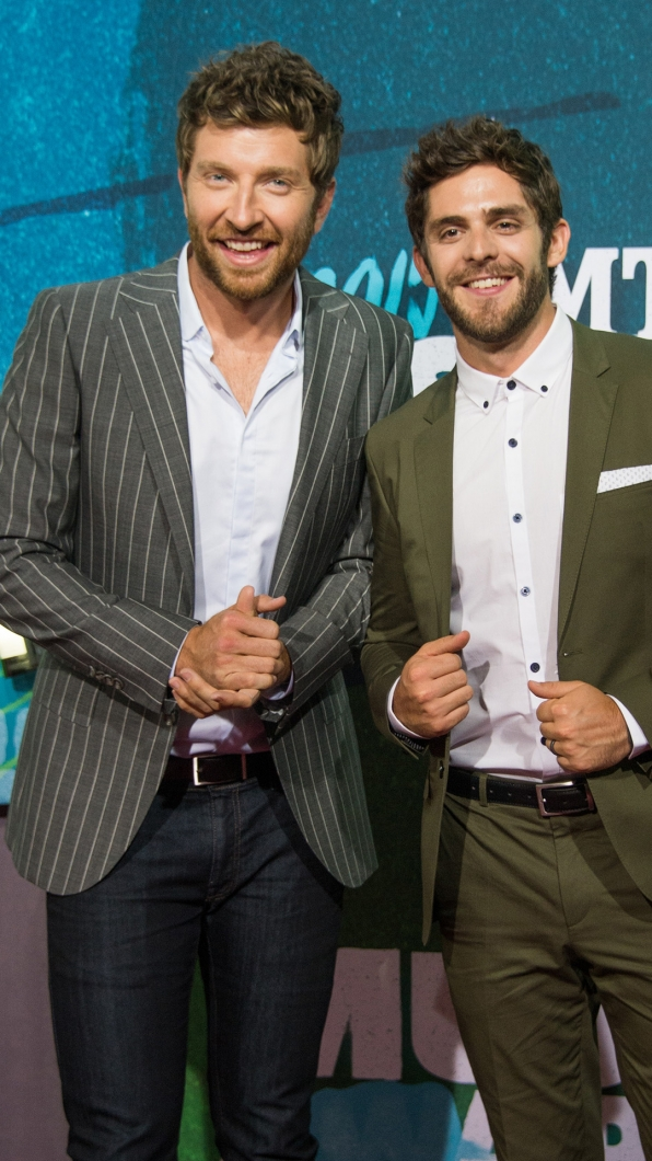Thomas Rhett and Brett Eldredge