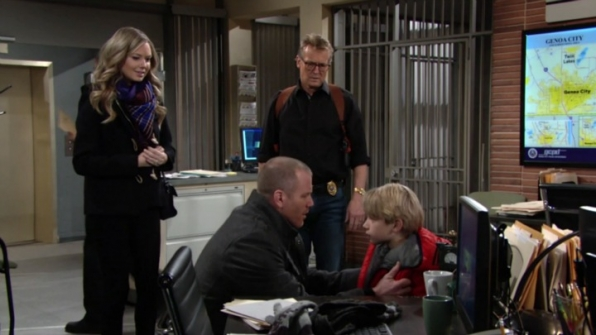 Stitch's son makes an unexpected appearance in Genoa City.