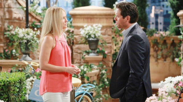 Sharon worries about Nick's bond with Sully.