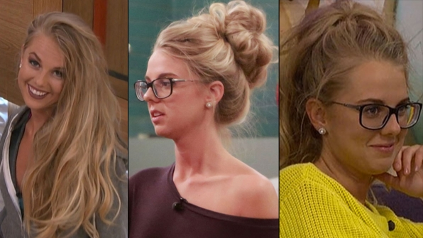 Since the start of Season 18, Nicole has been rocking a variety of fun hairstyles!