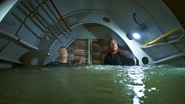 Callen and Sam finally escape the explosive narco-sub