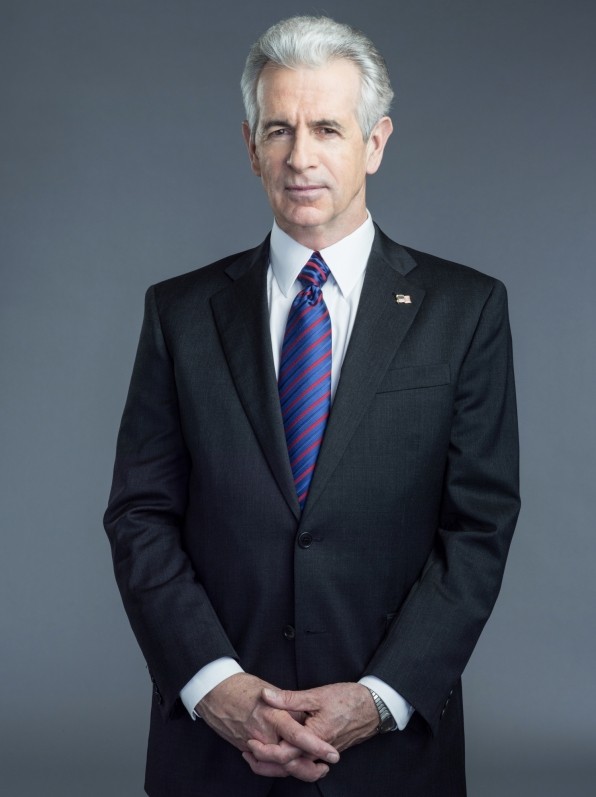 James Naughton stars as President Kincaid