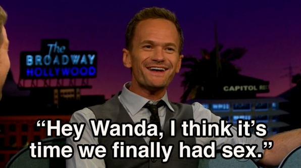 1. Neil Patrick Harris still does an amazing impression of one of his old characters.