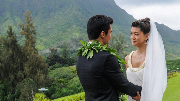Kono and Adam tied the knot in a beautiful location on Hawaii Five-0.
