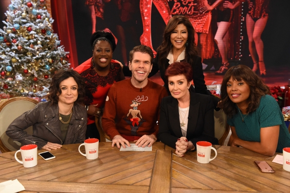 First guest of the day, Perez Hilton