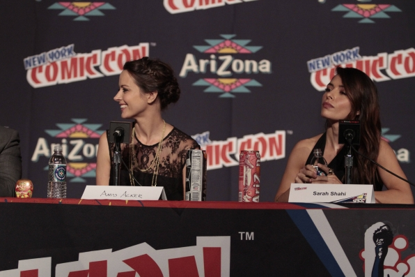 Amy Acker and Sarah Shahi