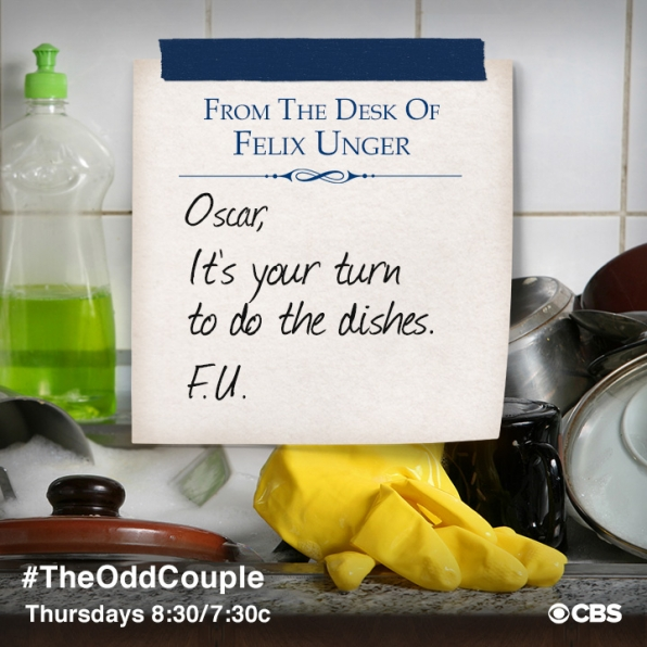 It's your turn to do the dishes.