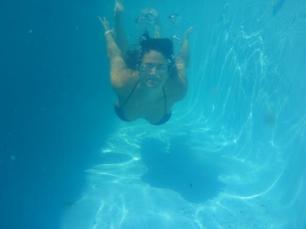 Amanda Underwater