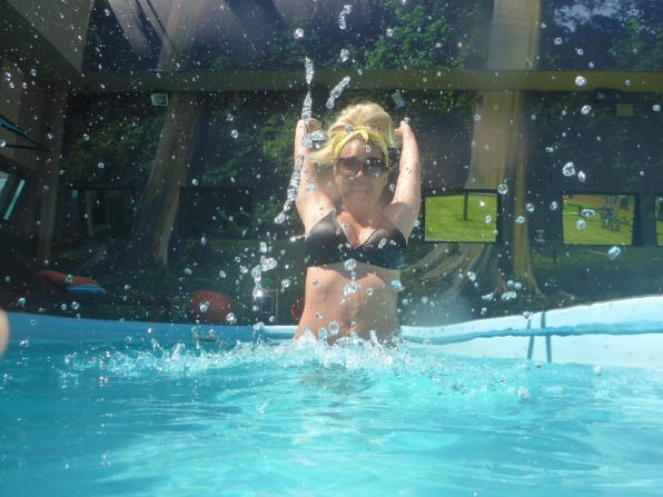GinaMarie in the Pool