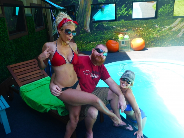 GinaMarie, Spencer and Aaryn