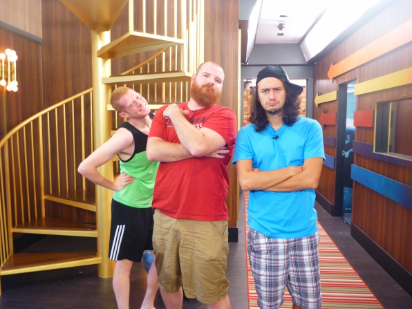 Andy, Spencer and McCrae