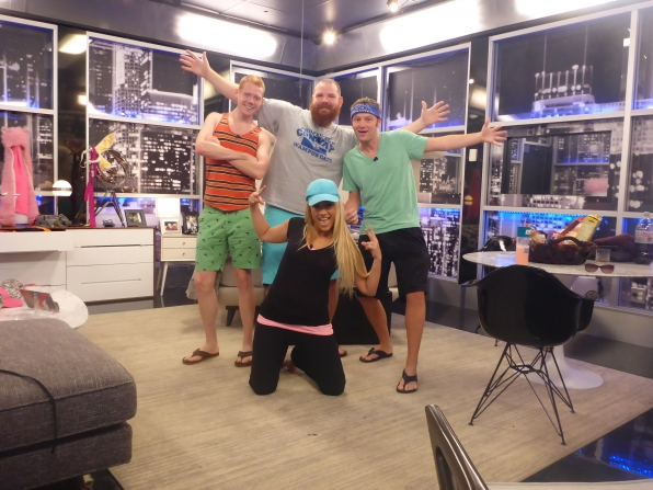 GinaMarie, Andy, Spencer and Judd