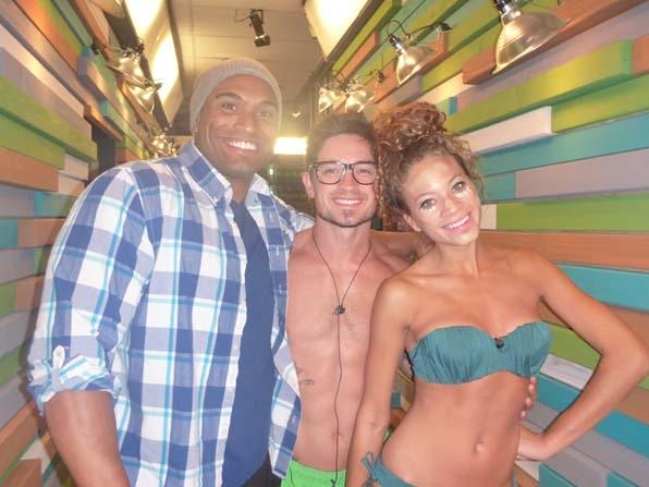 Devin, Caleb and Amber