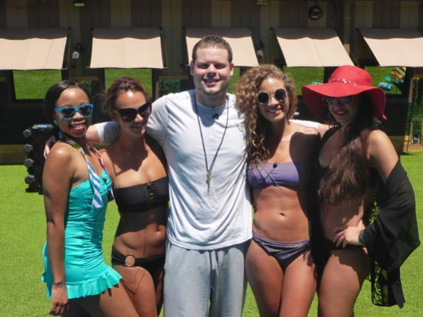 Derrick and some of the ladies