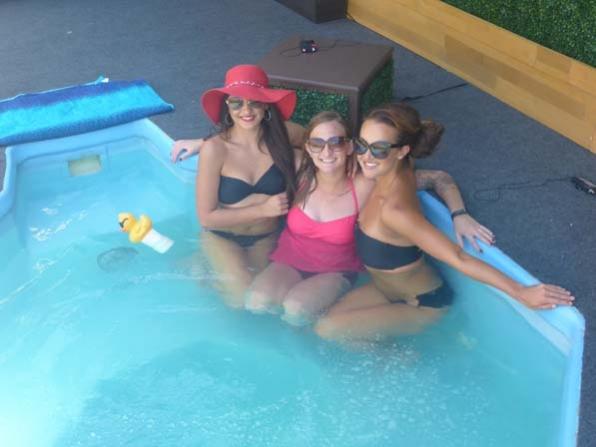 Victoria, Christine and Brittany
