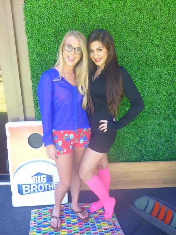 Nicole and Victoria