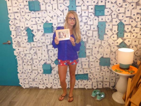 Photo from Nicole's HoH room
