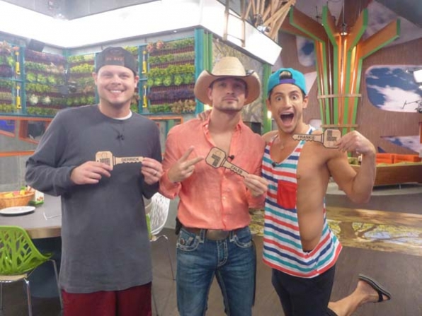 Derrick, Caleb and Frankie