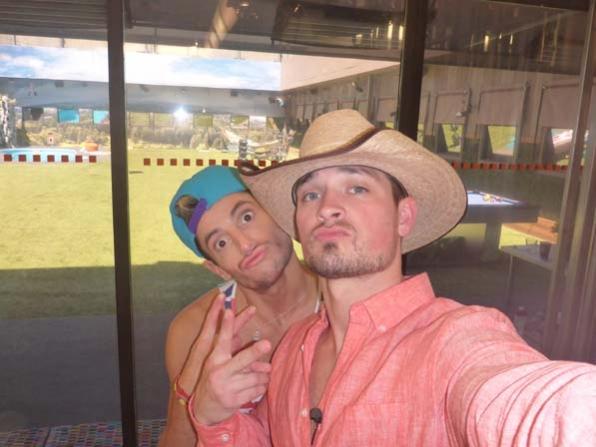 Frankie and Caleb's selfie