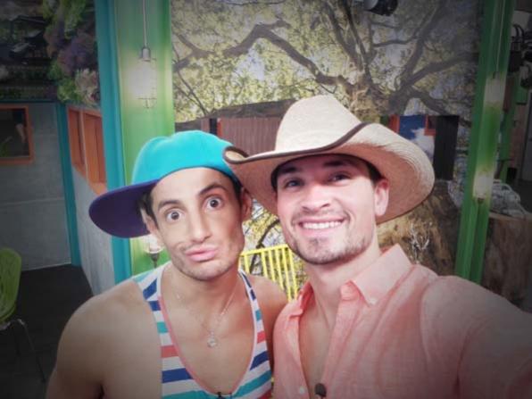 Buddies in hats