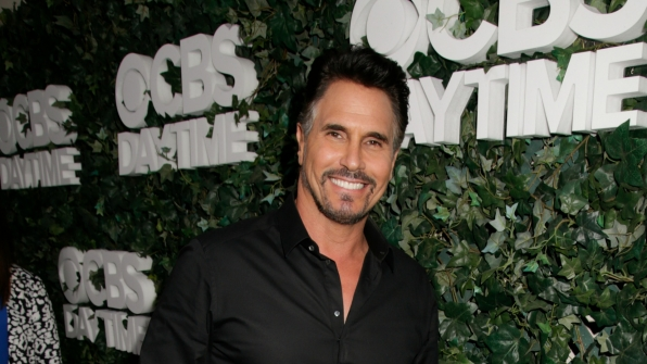 Don Diamont flashed his signature smile.