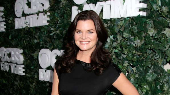 Heather Tom absolutely glowed.