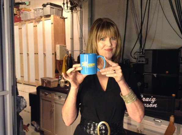Pam Dawber  - Behind the Scenes at The Late Late Show