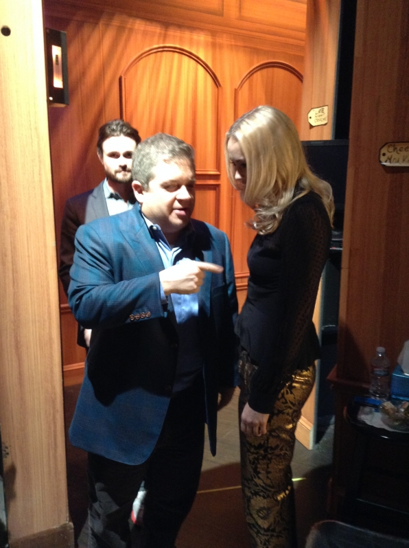 Patton Oswalt and Hannah New