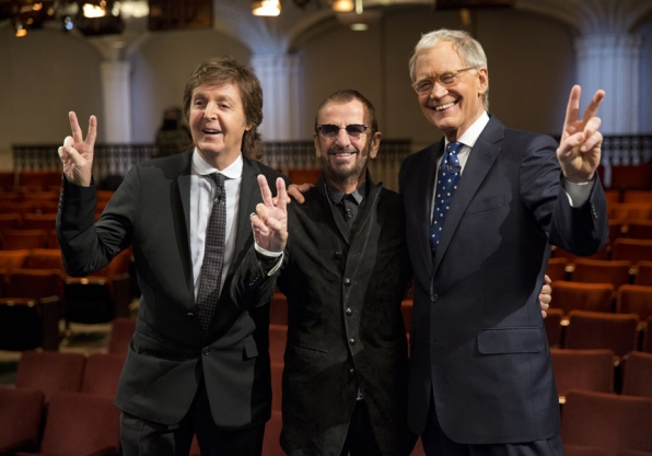 Paul McCartney, Ringo Starr and David Letterman - The Beatles: The Night That Changed America - A GRAMMY® Salute - CBS.com