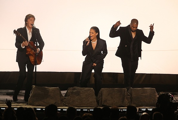 Paul McCartney, Rihanna and Kanye Took The Stage
