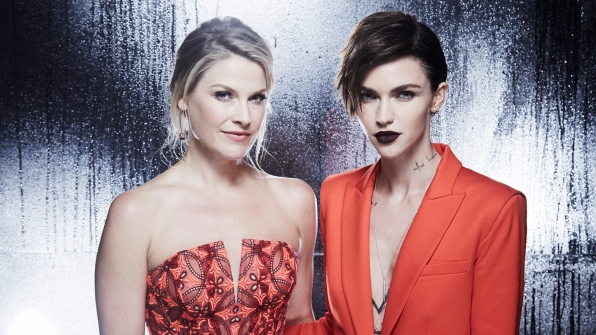 Ali Larter and Ruby Rose
