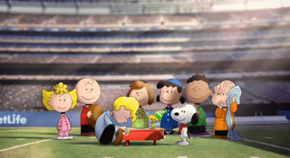 9. MetLife: National Anthem with Peanuts