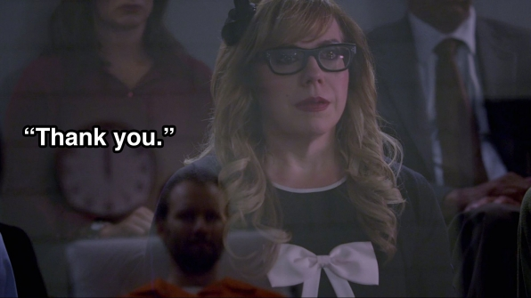 Penelope Garcia faced the man who attempted to murder her and Dr. Reid.