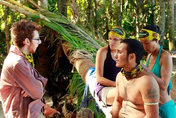 Tribe Members Talking