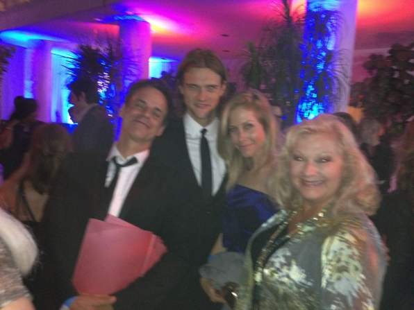 Christian LeBlanc, Hartley Sawyer and Beth Maitland