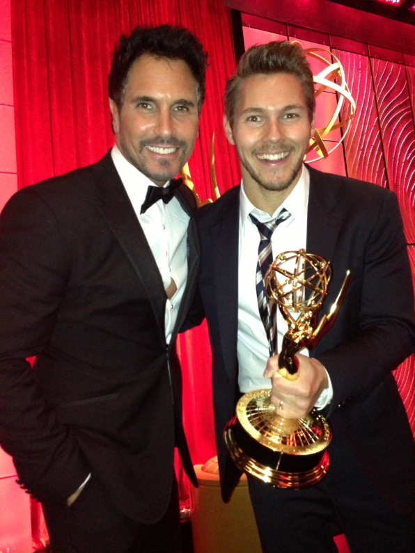 Don Diamont and Scott Clifton